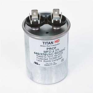 TITAN HD PRCF12.5A 12.5 MFD 440/370-Volt Round Run Capacitor