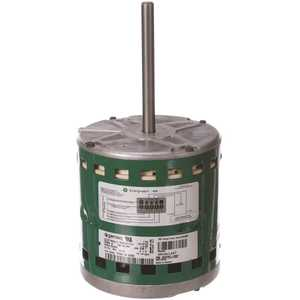 GENTEQ 6205E 1/2HP Fan and Blower Motor 1075 RPM 5 Speed/PWM, 208-Volt - 230-Volt