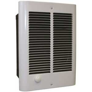 Qmark CZ2048T COS-E Fan-Forced Compact Zonal Wall Heater, 6824 BTU, 240/208-Volt, 2000/1500-Watt Outputs with Thermostat
