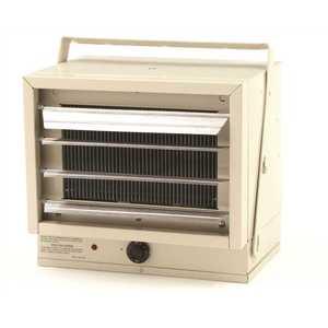 Qmark MWUH5004APQ 5,000-Watt 240-Volt Horizontal Downflow Garage Heater with Thermostat and Mounting Bracket
