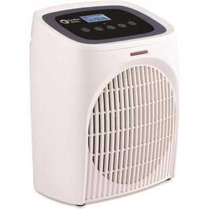 Comfort Zone CZ58WT 9.5 in. 750-Watt/1500-Watt Digital Bathroom Electric Fan-Forced Heater with 2 Heat Settings