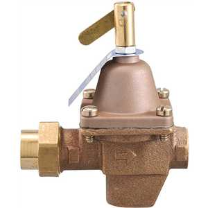 Watts TB1156F 1/2 in. x 1/2 in. Bronze High Capacity Water Feed Regulator with Union Threaded Inlet Connection