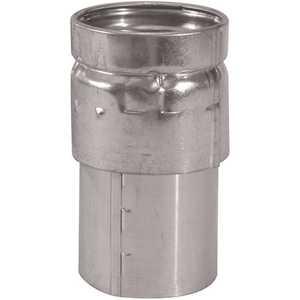 SELKIRK 103240 3 in. Steel Draft Hood Gas Vent Connector