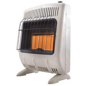 Heatstar HSSVFRD20LPBT 18,000 BTU Vent-Free Radiant Propane Heater with Thermostat and Blower
