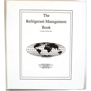 OBRIEN GLOBAL PRODUCTS RM1111 REFRIGERANT MANAGEMENT BOOK EPA