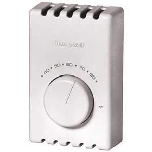 Honeywell Safety T410A1013 Thermostat T41 Electric Heat Single Pole Premier White