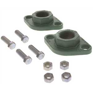 Taco Comfort Solutions 110-252F Freedom Flange 1 in. Cast Iron Flange Set for Hydronic Circulator