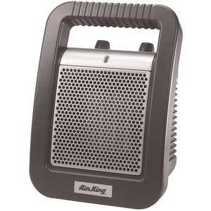 Air King 8945C 1,500-Watt Ceramic Portable Heater with Adjustable Thermostat