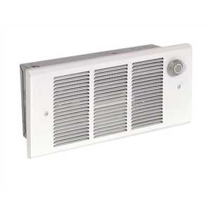 Q-MARLEY ENGINEERED PRODUCTS GFR1500T2F QMARK 120-Volt 1,500-Watt 5118 BTU Electric Fan Forced Wall Heater With Built-In Thermostat