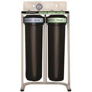 Space Saver Combo - Compact Whole House Water Filtration System Plus Envirosoft Salt-Free Conditioning - 5 GPM