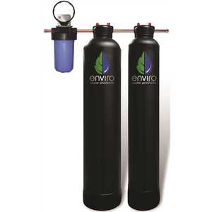 Ultimate Combo Series - Whole House Filtration Plus Envirosoft Salt-Free Conditioning - 34 GPM