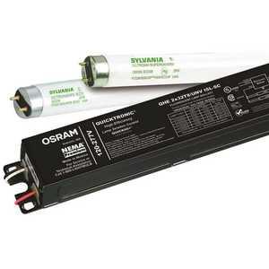 Sylvania 49837 Quicktronic High Efficiency 4 ft. 1-Light Ballast for 32-Watt T8 Lamps