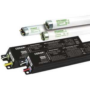 Sylvania 49387 Quicktronic High Efficiency 4 ft. 4-Light Ballast for 32-Watt T8 Lamps