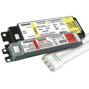Sylvania 50340 Quicktronic 22.4 in. 2-Light Ballast for 40-Watt Biax Lamps