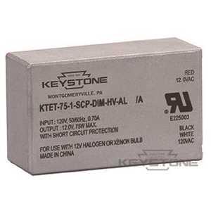 Keystone Technologies KTET-75-1-SCP-DIM-HV-AL 120-Volt 75-Watt Low Voltage Halogen Ballast
