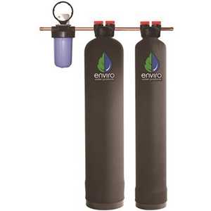 Enviro Water PRO-COMBO-1044 (3 CARTONS) Ultimate Combo Series - Whole House Water Filtration System Plus Envirosoft Salt-Free Conditioning - 10 - 14 GPM