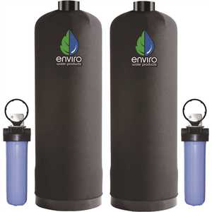 Ultimate Carbon Series Whole House Water Filtration System with 34 GPM High Flow