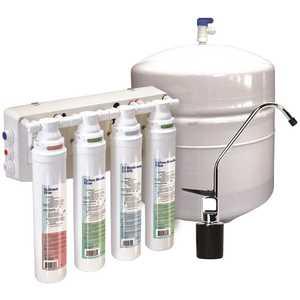 Aqua Flo 1340302-60 Under Sink Reverse Osmosis Water Filtration System QCRO4V-50