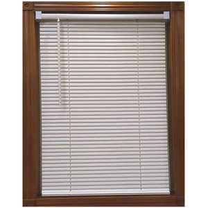 Designer's Touch 201809110 Alabaster Cordless Light Filtering Vinyl Blind with 1 in. Slats 31 in. W x 48 in. L