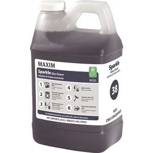 Maxim 953300-65T Sparkle 64 oz. Concentrated Glass Cleaner