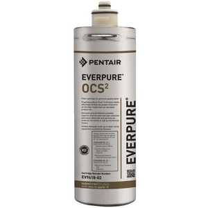 Everpure EV961807 OCS(2) Precoat Under Sink Replacement Water Filter Cartridge for Coffee and Drinking Water Systems