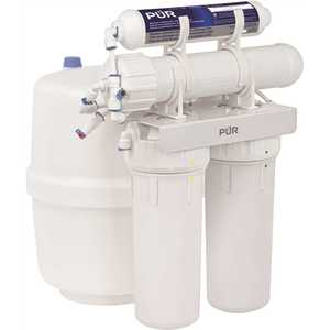 PUR PUN4RO 4-Stage Universal 23.3 GPD Reverse Osmosis Water Filtration System with Faucet