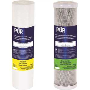 PUR PUN2FSKIT Under-Sink Replacement Water Filter Cartridge Kit for PUN2FS