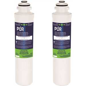 PUR PQCCRBKIT Quick-Connect Replacement Water Filter Cartridge for PQC1FS and PQC3RO