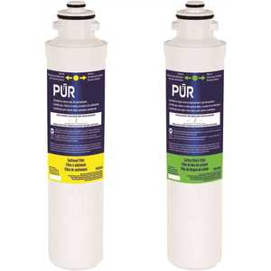 PUR PQC2FSKIT Quick-Connect Replacement Water Filter Cartridge Kit