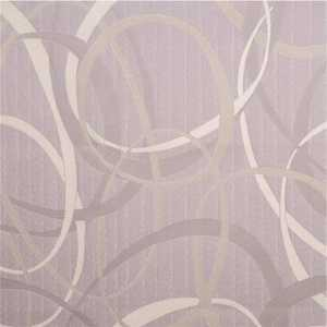 Fabtex CC-TW04-18084-M 216 in. W x 84 in. H Twirl Pattern Privacy Curtain in Lilac