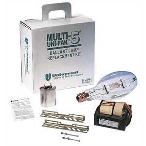 UNIVERSAL LIGHTING TECHNOLOGIES M400ML5AC4M555K UNIVERSAL HID MULTI-5 UNIPAK METAL HALIDE REPLACEMENT KITS WITH LAMP 400 WATT