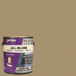 Beyond Paint BP15 1 gal. Linen Furniture, Cabinets, Countertops and More Multi-Surface All-in-One Interior/Exterior Refinishing Paint