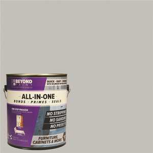 Beyond Paint BP23 1 gal. Soft Gray Furniture, Cabinets, Countertops and More Multi-Surface All-in-One Interior/Exterior Refinishing Paint