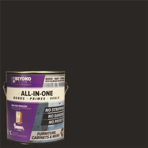 Beyond Paint BP14 1 gal. Licorice Furniture, Cabinets, Countertops and More Multi-Surface All-in-One Interior/Exterior Refinishing Paint