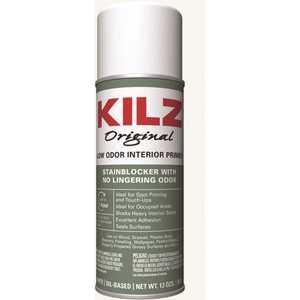 KILZ 10444 Original 13 oz. White Low-Odor Oil-Based Interior Primer Spray, Sealer, and Stain Blocker