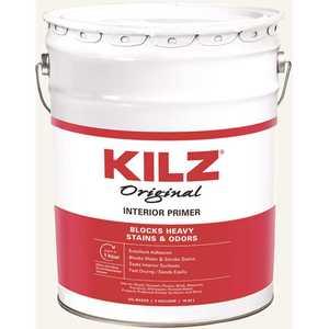 KILZ 10000 Original 5 Gal. White Oil-Based Interior Sealer, Primer, and Stain Blocker
