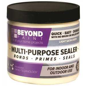 Beyond Paint BP37 1-Pint Multi-Purpose Indoor/Outdoor Light Satin Sheen Sealer