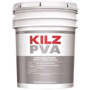 KILZ PX01005 PVA 5 Gal. White Interior Drywall Primer