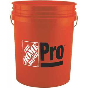 The Home Depot 05GHDPR1300 5 gal. Home Depot Pro Bucket