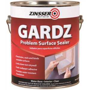 Zinsser 2301 1 gal. Gardz Clear Water-Based Interior Drywall Primer and Problem Surface Sealer