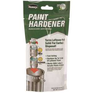 Homax 2134 3.5-oz. Waste Away Paint Hardener for Paint Disposal