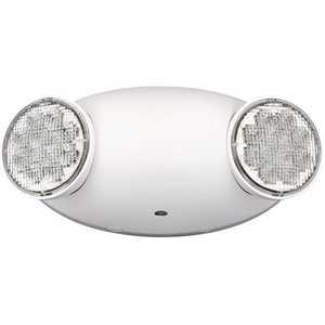 National Brand Alternative CU2SD Compass Integrated LED White Emergency Light with Self-Diagnostics