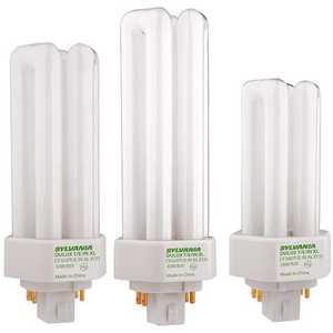 Sylvania 20890 75-Watt Equivalent T4 Energy Saving Decorative CFL Light Bulb Cool White