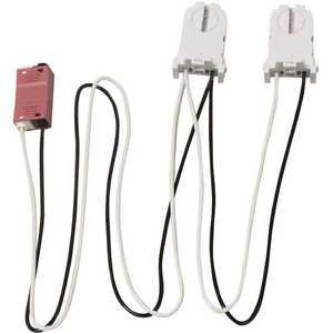 Keystone Technologies KT-SOCKET-T8-U-T-2-W 2-Lamp Wiring Harness