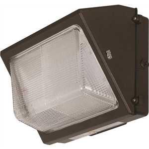 Luminance F7418-66 ADL Lumin 80-Watt Bronze Outdoor LED Wall Pack with Prismatic Lens