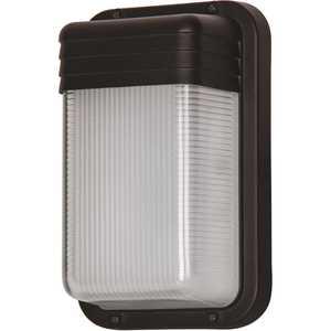 Luminance F9954-31 9-Watt Black Outdoor Integrated LED Wall Mount Sconce