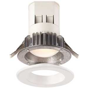 EnviroLite EV407941WH40 4 in. Bright White LED Easy Up Recessed Can Light with 93 CRI J-Box (No Can Needed)
