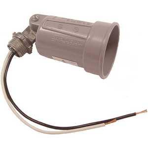 BELL 5606-0 75-150W PAR38 Gray Lampholder