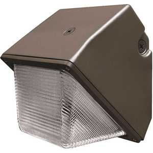 Feit Electric S8.5CWPK/850/BZ 8.5 in. 30-Watt Equivalent Integrated LED Bronze Outdoor Wall Pack Light Commercial Security