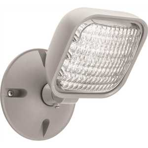 Lithonia Lighting ERE GY SGL WP M12 Contractor Select Thermoplastic Gray Emergency Remote Head
